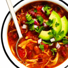 Easy Chicken Chili Recipe