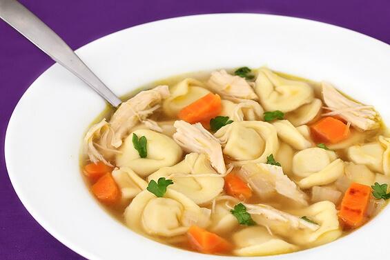 Easy Chicken Tortellini Soup Recipe
