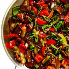 Easy Pepper Steak Recipe