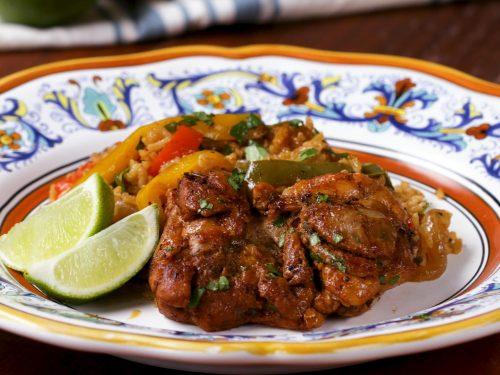 fajita chicken and rice dinner recipe
