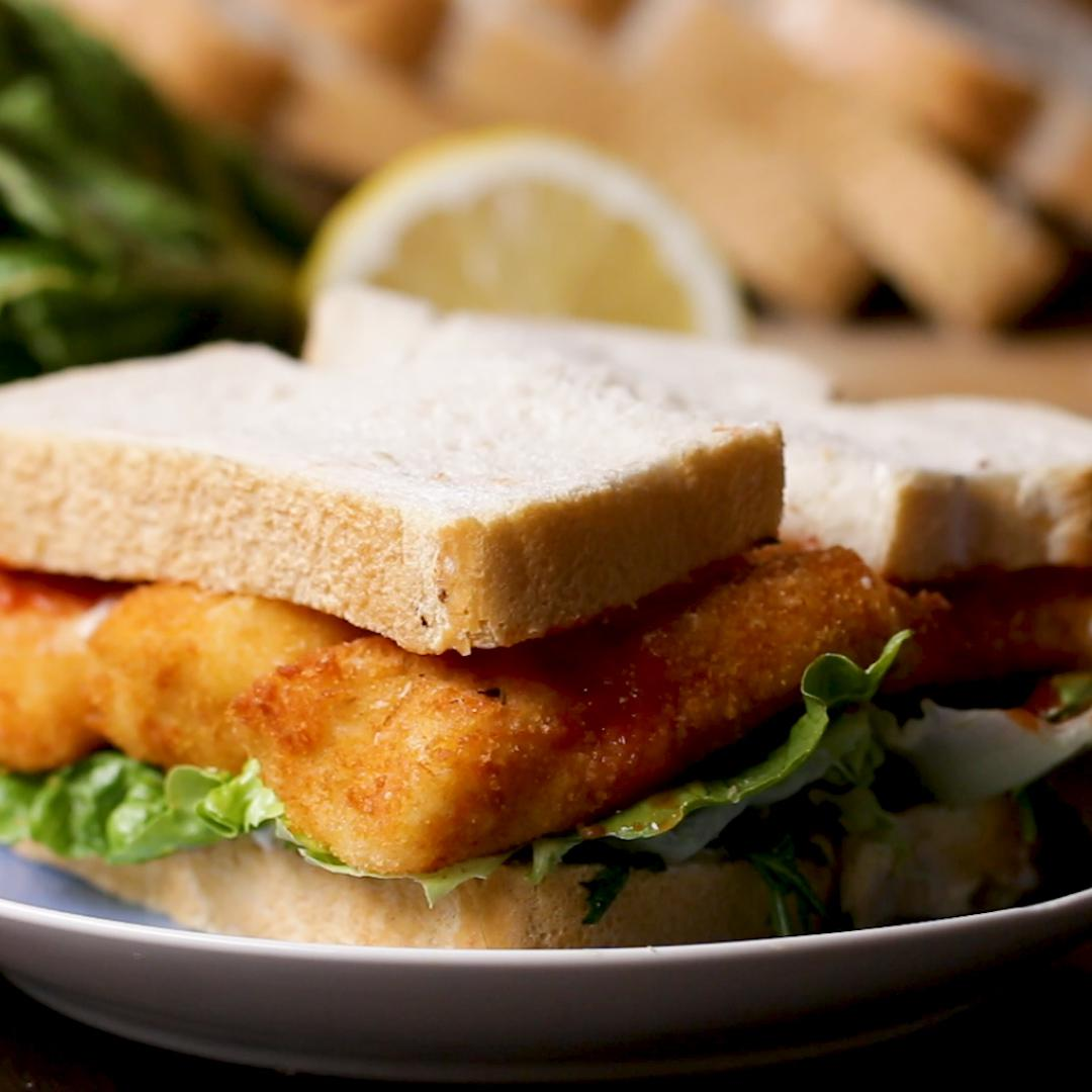 Fancy Fish Finger Sandwich Recipe