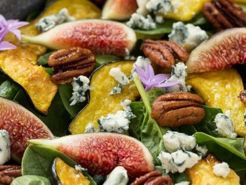 fig spinach salad recipe