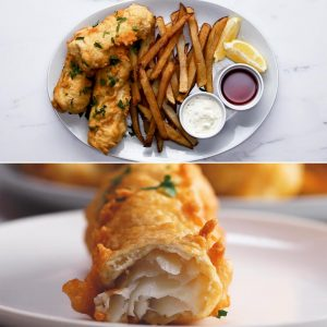 Perfect Fry Fish And Chips Recipe