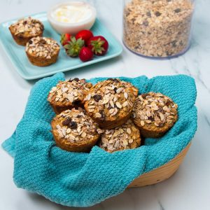 Flourless Muesli Muffins Recipe