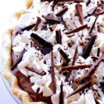 french silk pie (chocolate pie) recipe