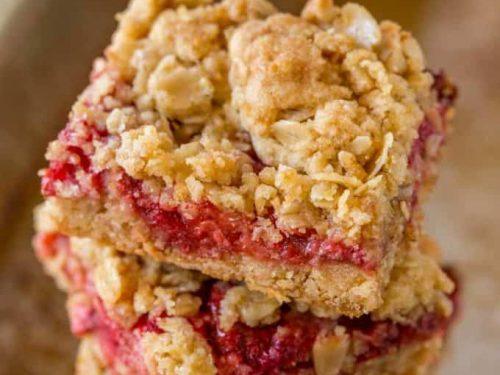 fresh strawberry crumb bars recipe