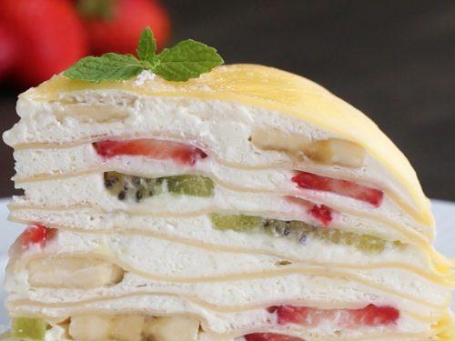 fruit mille crepe recipe