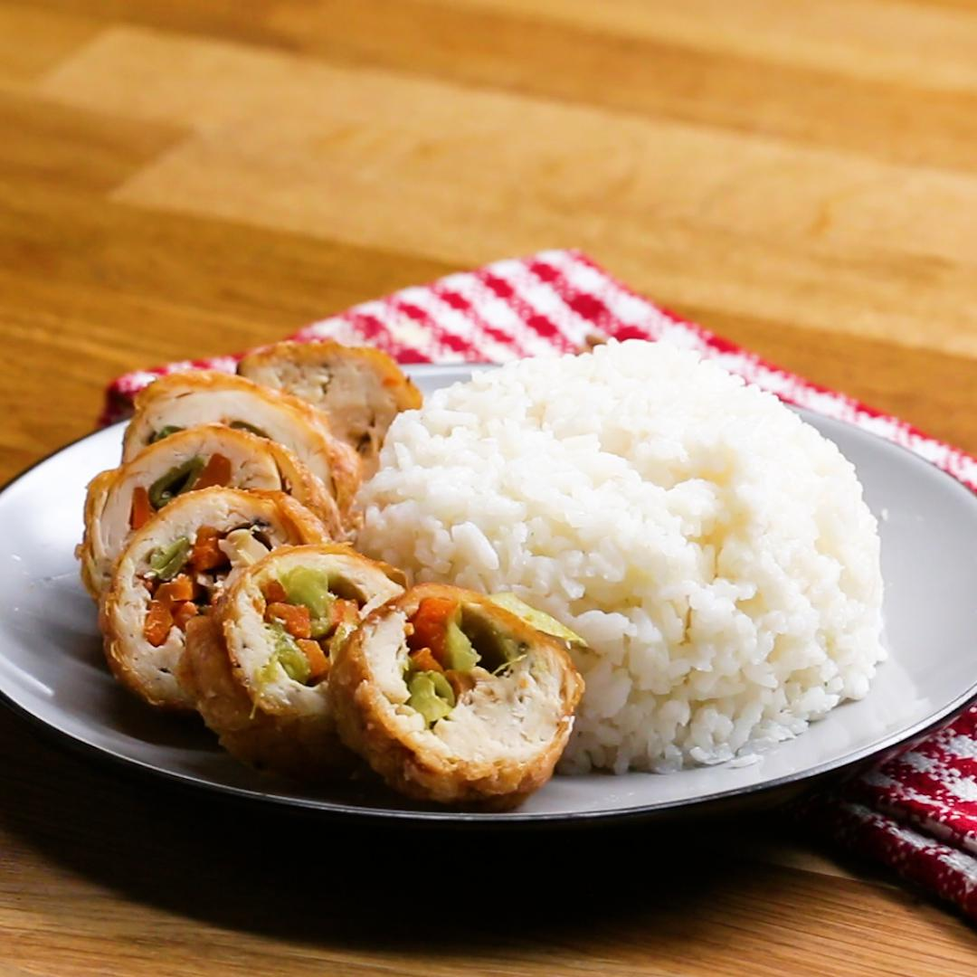 Copycat General Tso's Chicken Roll Recipe