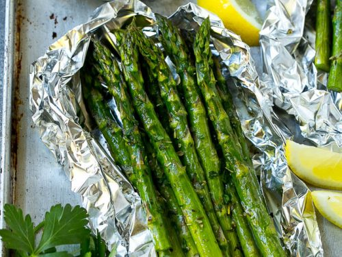 grilled asparagus in foil recipe