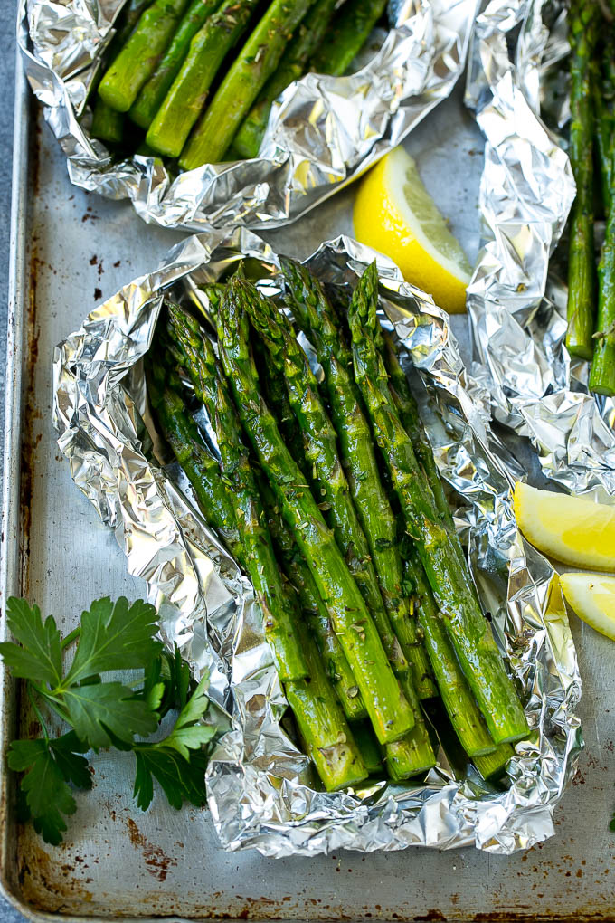 Grilled Asparagus in Foil Recipe