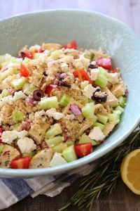 Grilled Chicken and Quinoa Salad Recipe