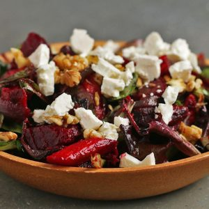 Hearty Roasted Veggie Salad Recipe