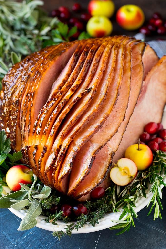 Sweet Baked Ham Recipe