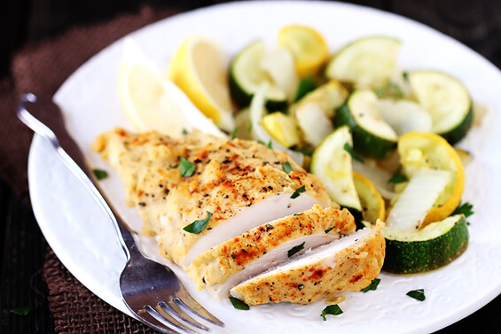 Hummus-Crusted Chicken Recipe