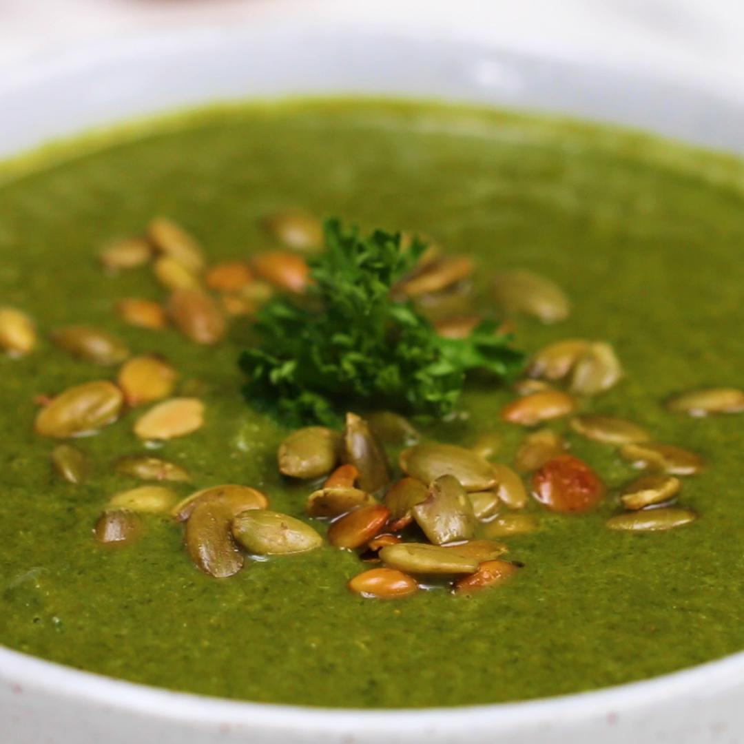 Green Soup for Strong Immunity Recipe