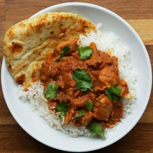 Instant Pot Curry Butter Chicken Recipe