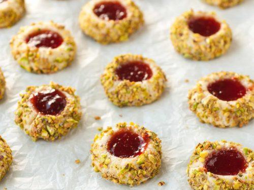 italian thumbprint cookies recipe