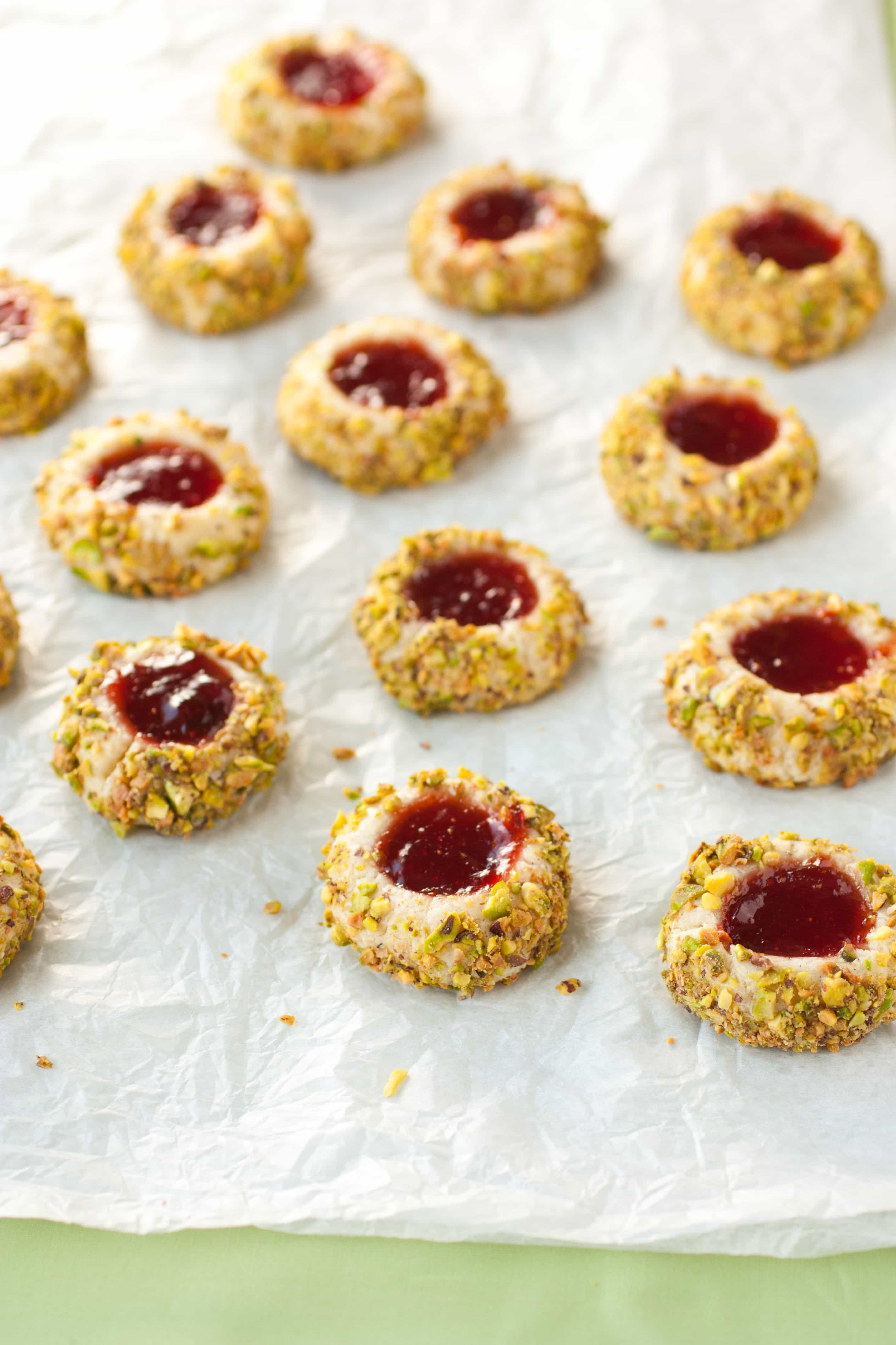 Italian Thumbprint Cookies Recipe