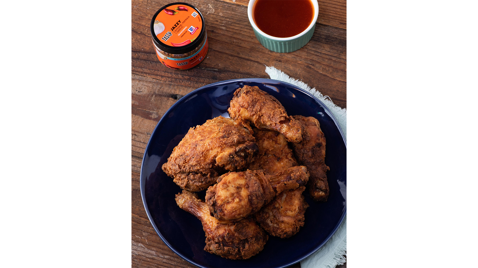 Jazzy Fried Chicken Recipe