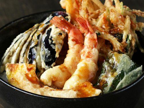 kakiage tempura don recipe