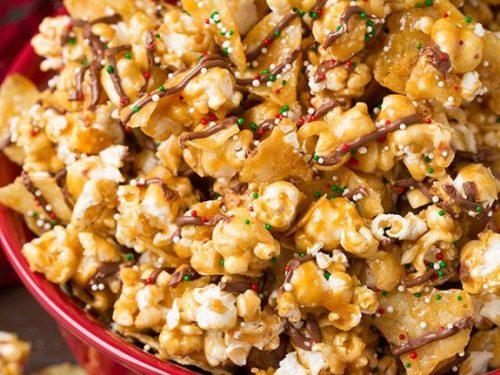 kettle chip caramel popcorn recipe