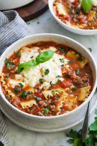 The Best Lasagna Soup Recipe