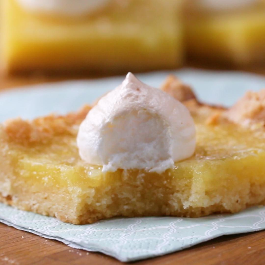 Lemon Meringue Bars Recipe