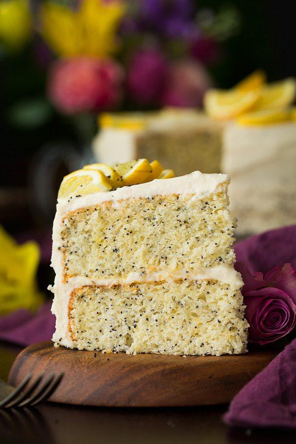 Lemon Poppy Seed Cake Recipe