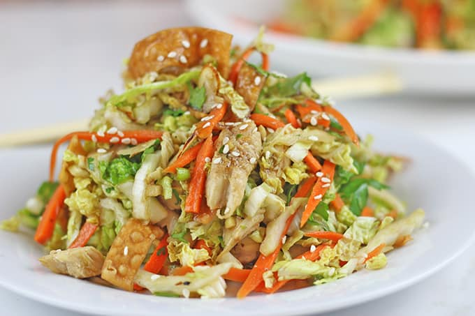 Light Chinese Chicken Salad Recipe