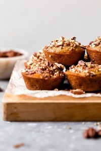 Maple Pecan Banana Muffins Recipe