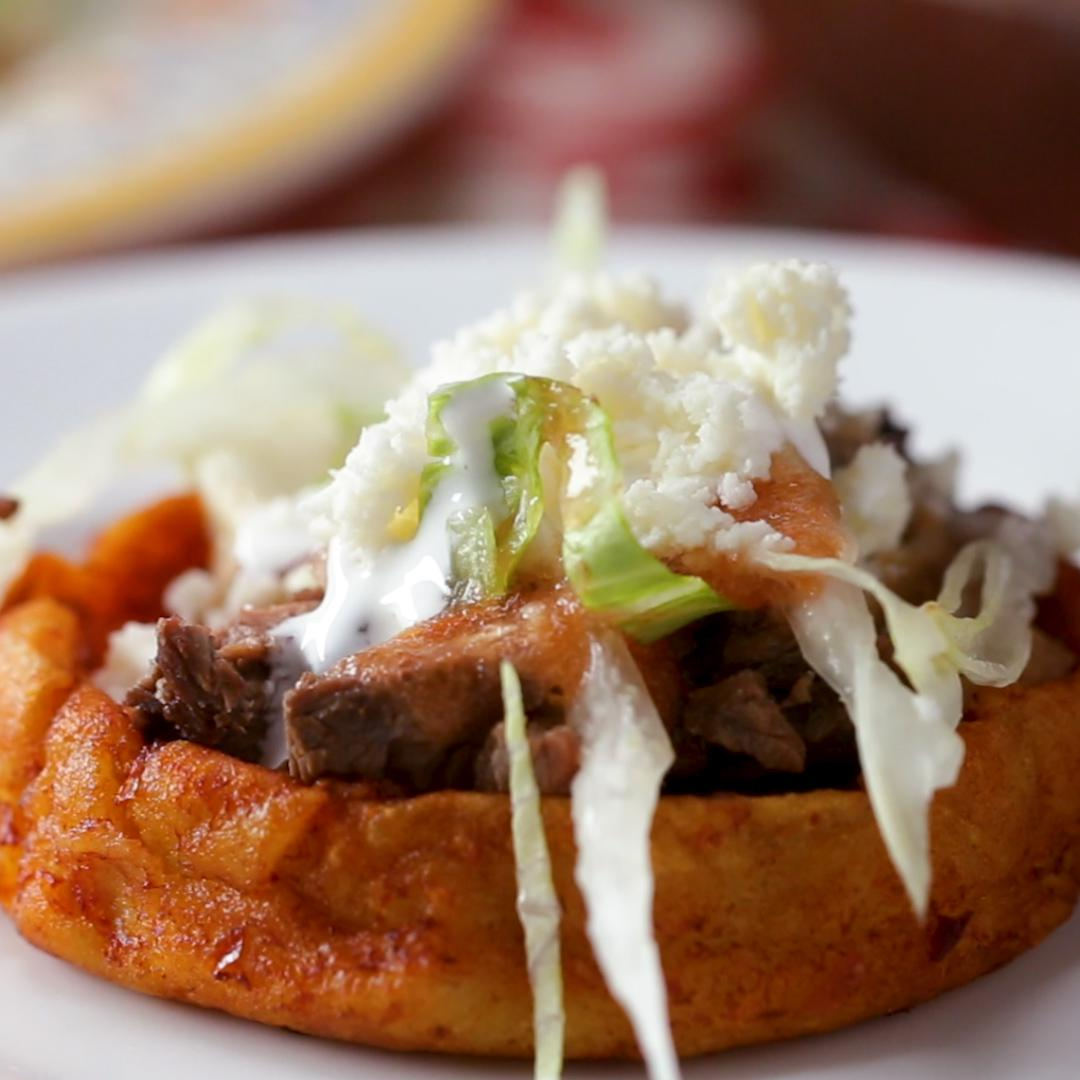 Mexican Sopes From Scratch Recipe