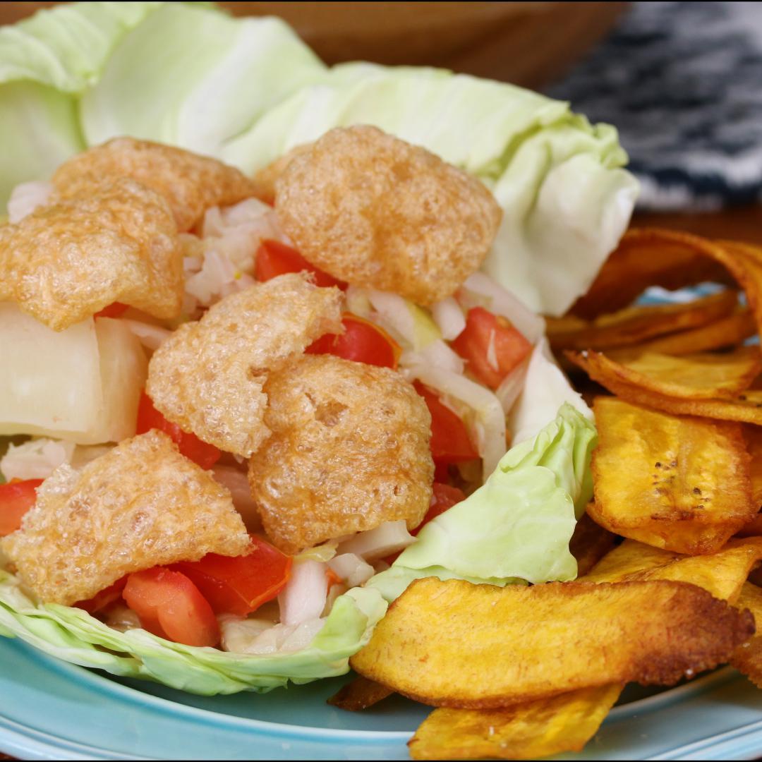 Nicaraguan Vigorón And Tajadas Recipe