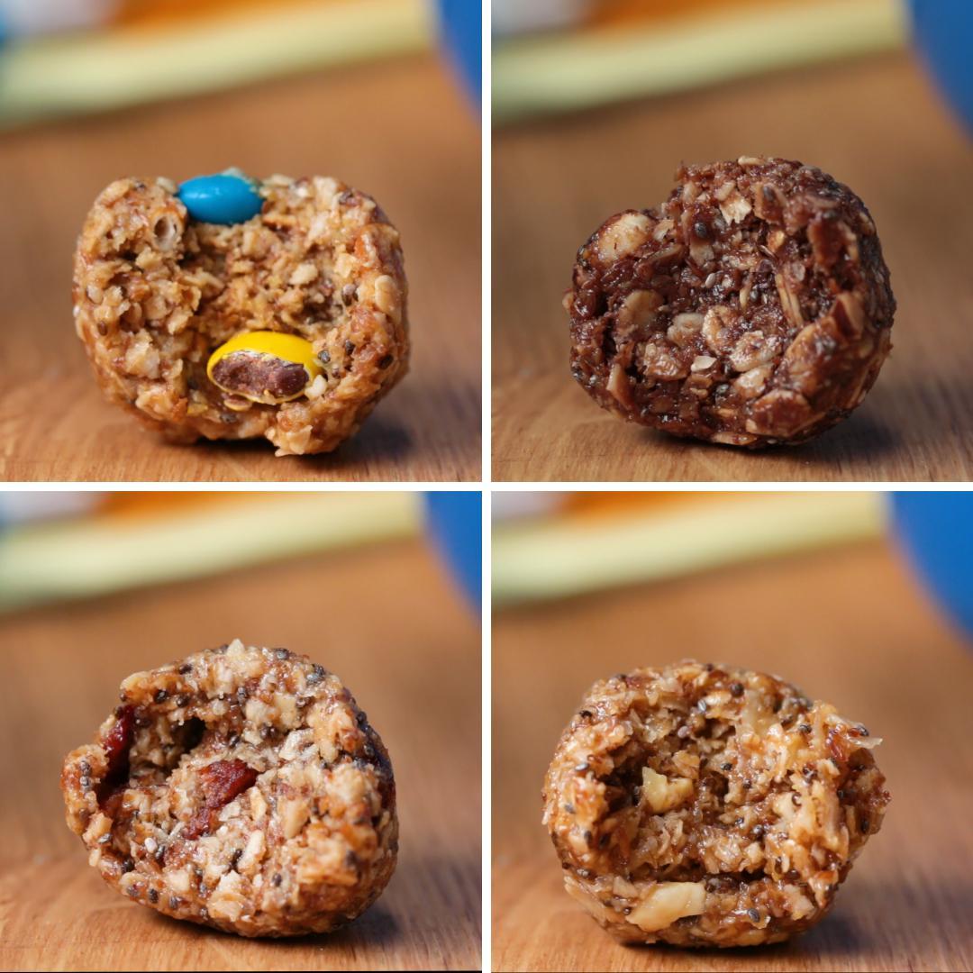No-Bake Oatmeal Balls Recipe
