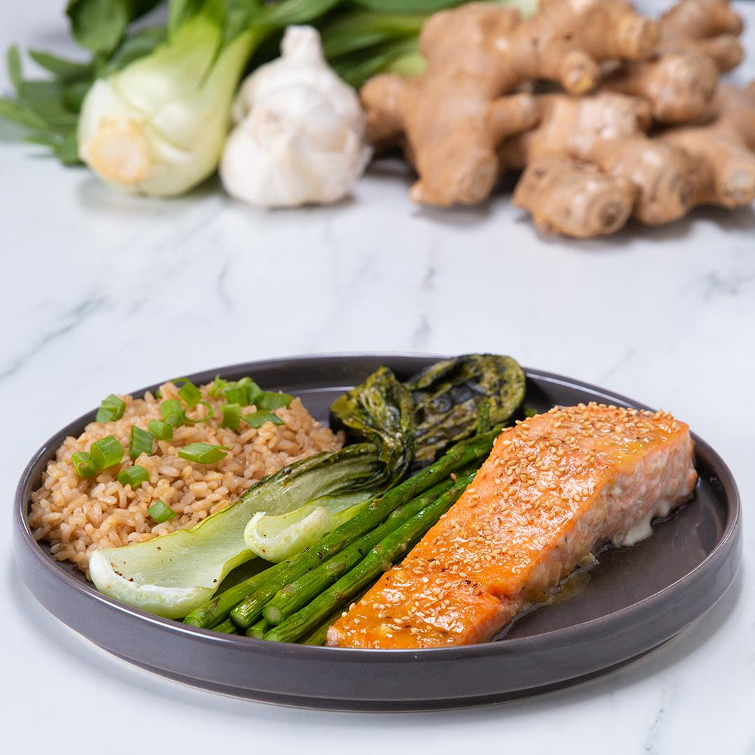 One-Pan Miso Honey Salmon Recipe