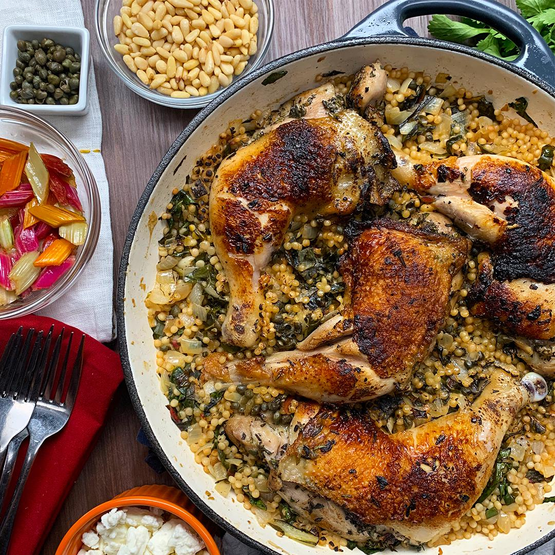 One-Pot Chicken Couscous Recipe