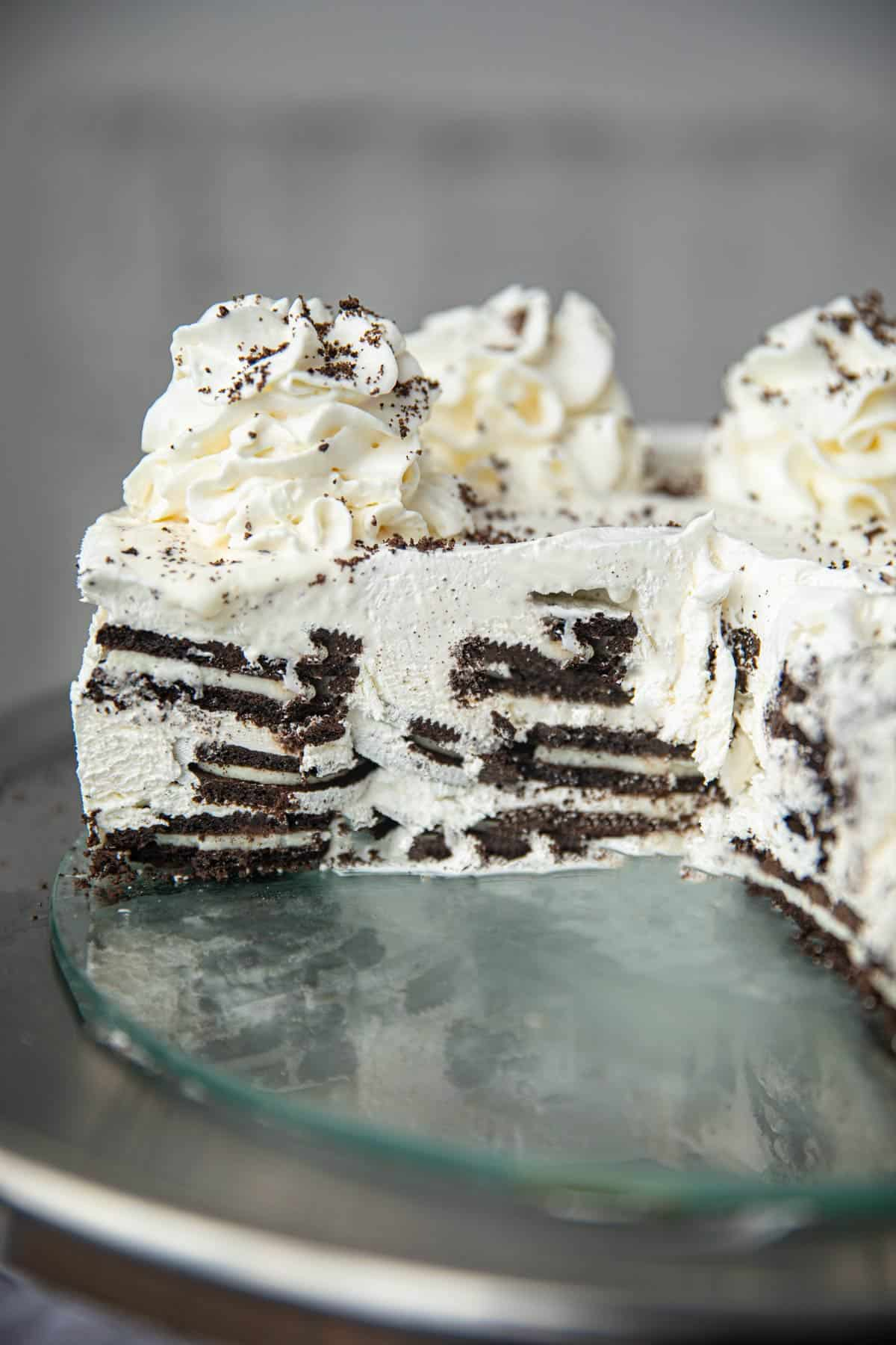 3 Ingredient Oreo Icebox Cake Recipe