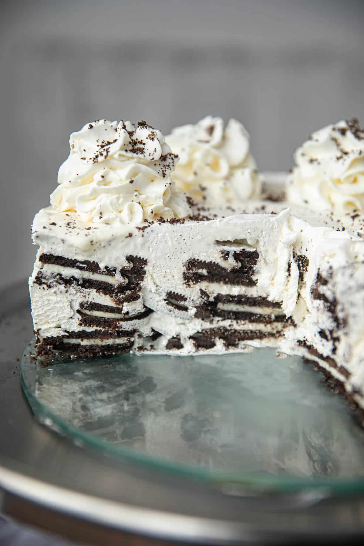 3 Ingredient Oreo Icebox Cake Recipe