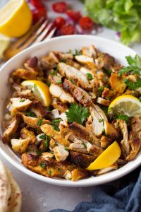 Oven Roasted Chicken Shawarma Recipe
