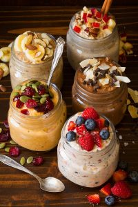 Overnight Oats in Five Ways Recipe