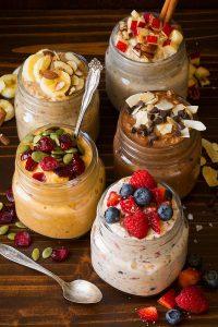 Overnight Oats in Five Ways Recipe