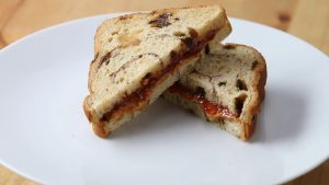 Tasty Peanut Butter and Jelly Sandwich