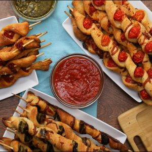 Pizza Sticks 3-Ways Recipe
