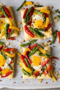 Puff Pastry Baked Eggs Recipe