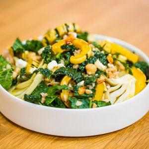 Roasted Delicata Squash And Farro Salad Recipe