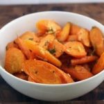 roasted ginger and garlic carrots recipe