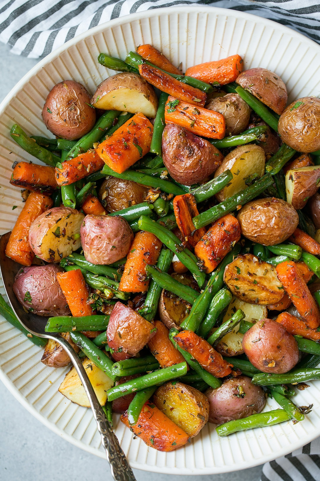 Roasted Vegetables with Garlic and Herbs Recipe