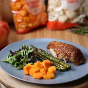 Rotisserie Chicken with Squash Recipe