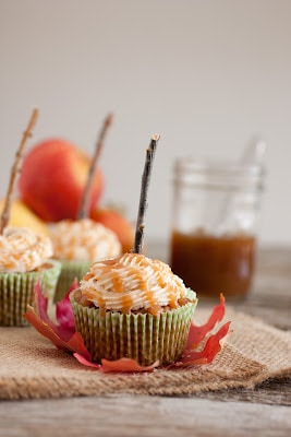 Salted Caramel Apple Cupcakes Recipe