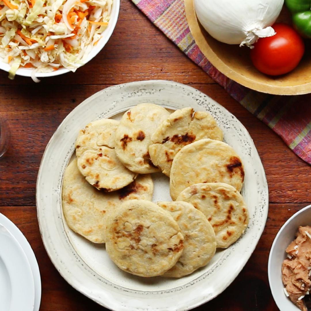 Salvadoran Pupusas Recipe