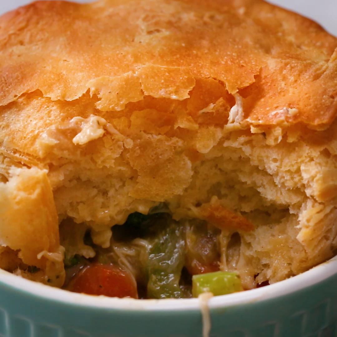 Semi-Homemade Veggie-Packed Pot Pie 2 Ways Recipe